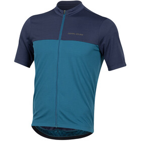 PEARL iZUMi Quest Jersey Uomo, navy/teal